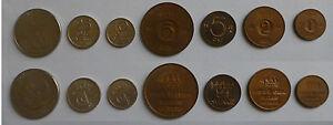 Svezia-Regno-Gustavo-VI-Adolfo-7-monete-7-coins-1-krona-25-10-5-5-2-1-ore