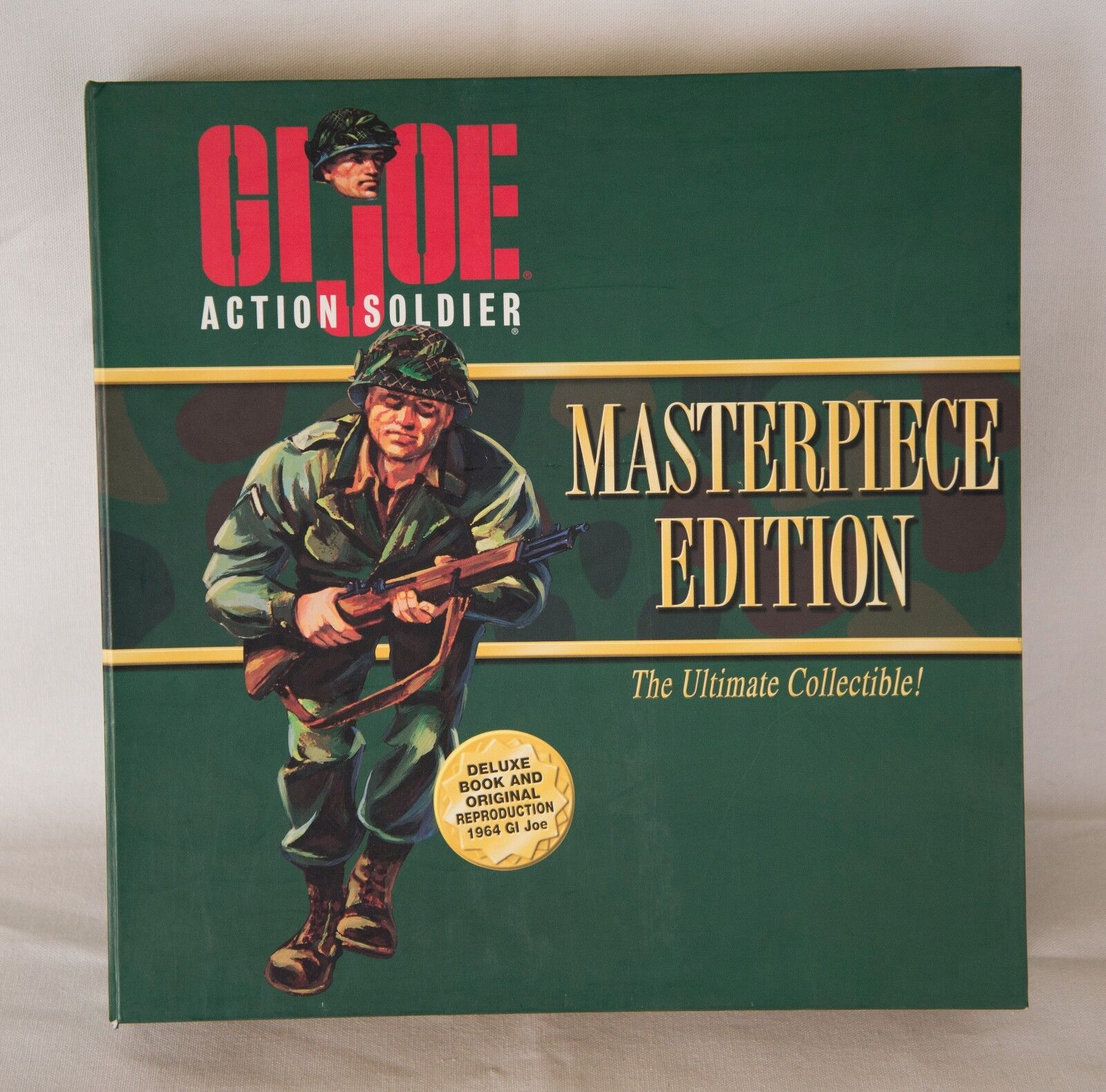 1996 gi joe meisterwerk ausgabe aktion soldat 12  abbildung & buch nib
