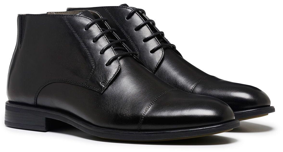julius marlow héritage formel / / / robe / travaux / souliers bottes hommes est noir 1214ad