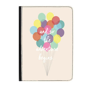The-Adventure-Begins-Quote-Balloons-Classic-Universal-7-034-Leather-Flip-Case-Cover