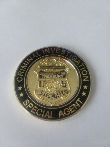 Internal Revenue Service criminal investigation challenge coin IRS