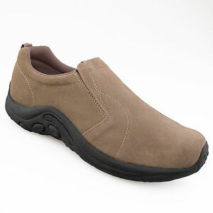 mens suede leather shoes suede slip on gusset casual