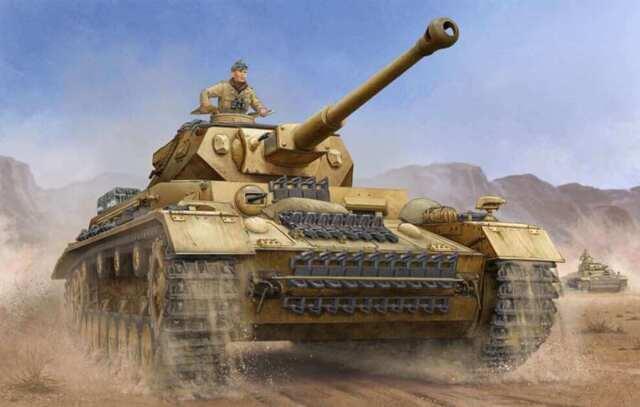 IV Ausf German Pz.Beob.Wg J Medium PzKpfw Tank 1:16 Model Kit Trumpeter 00922