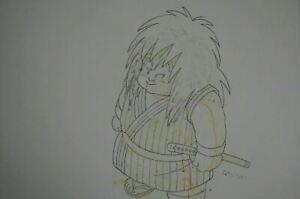 Original-Yajirobe-Dragon-Ball-Z-DBZ-Anime-Production-Cel-Pencil-Douga-Art