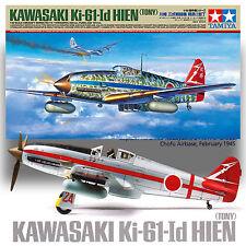 TAMIYA 1/48 KAWASAKI KI-61 1D HIEN (TONY) OPT CLEAR FUSELAGE, HA-40 ENGINE, MASK