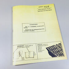 Parts Manual Catalog For John Deere 8 8w 9 9w Mower Sickle Bar Hay Assembly