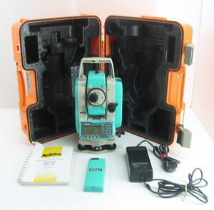 Details about NIKON TOTAL STATION NPL-332 REFLECTORLESS FOR SURVEYING 1  MONTH WARRANTY