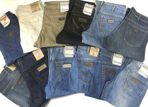 Wrangler Texas Jeans Hommes Différentes Couleurs//Tailles Stock!