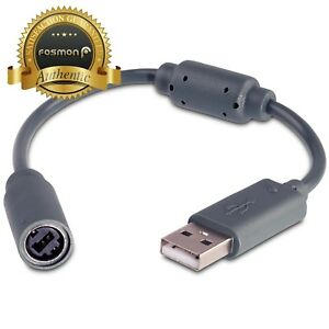 Fosmon-USB-Dongle-Breakaway-Connection-Cable-Cord-Adapter-Xbox-360-Controller