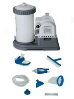 Intex 2500 Gph Gcfi Pool Filter Pump With Timer (633t) & Deluxe Maintenance Kit on sale