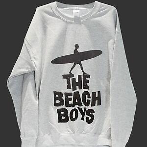 THE-BEACH-BOYS-SURF-ROCK-SWEATSHIRT-unisex-grey-jumper-S-3XL