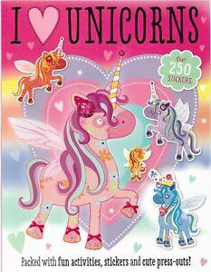 I-Love-Unicornios-Pegatina-Y-Libro-de-Actividades-Con-Press-Outs-Sobre-250