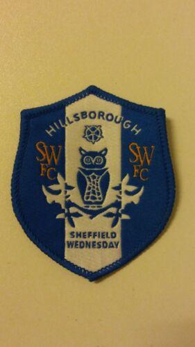 Sheffield Wednesday Hillsborough soccer voetbal patch England Vintage emblem