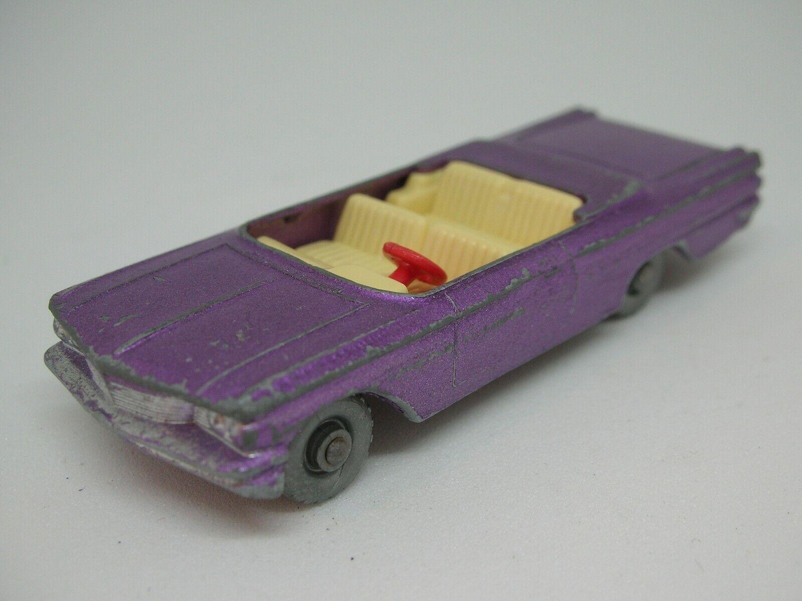 calidad fantástica  RARA  Matchbox Matchbox Matchbox Lesney -  39 – Pontiac converdeible púrpura  suministro directo de los fabricantes