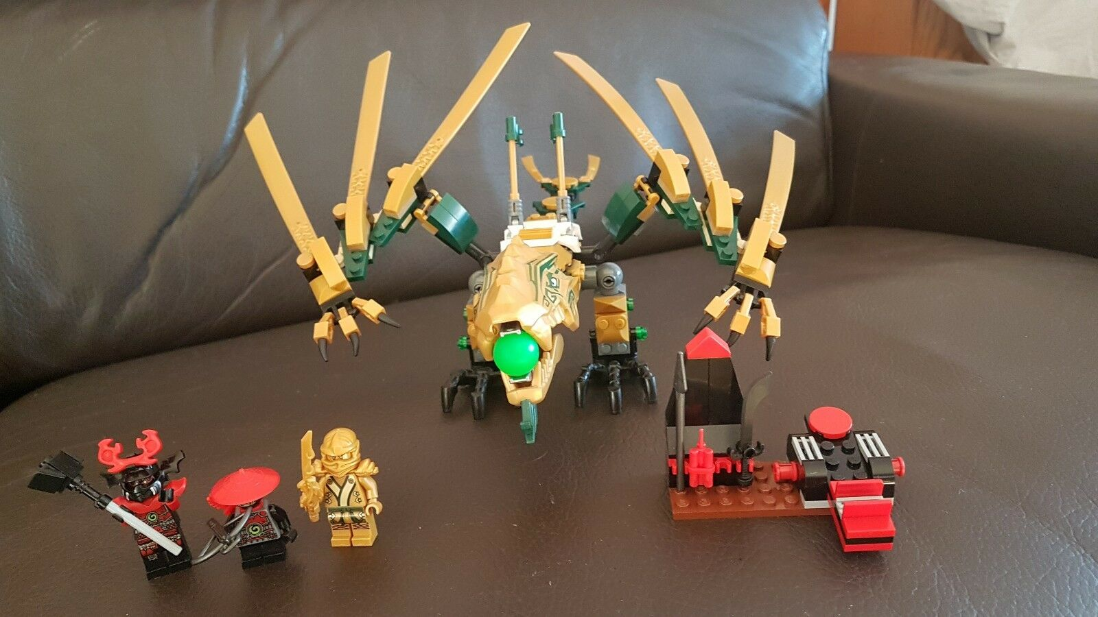 Lego Lego Lego ninjago 70503, complete set, instruction with box, mint condition 45470c
