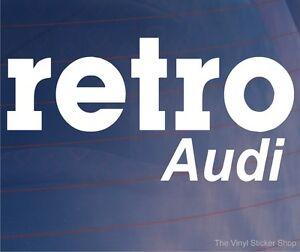 RETRO-AUDI-Novelty-Classic-Vintage-Car-Window-Bumper-Vinyl-Sticker-Decal