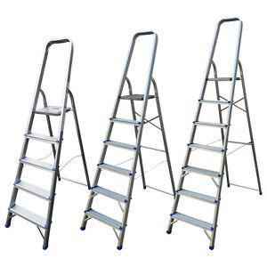 5-6-7-Step-Aluminium-Ladder-Stepladders-DIY-Tools-Lightweight-Platform-Ladders