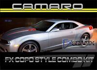 2010 - 2013 Camaro Copo Style Body Hockey & Hood Spears Stripe 3m Stripes