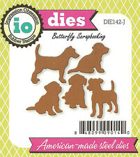 DOGS Dog Set American Made Steel Dies by Impression Obsession DIE170-R New