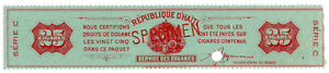 I-B-Haiti-Revenue-Tobacco-Duty-25-Cigars-ABN-Specimen
