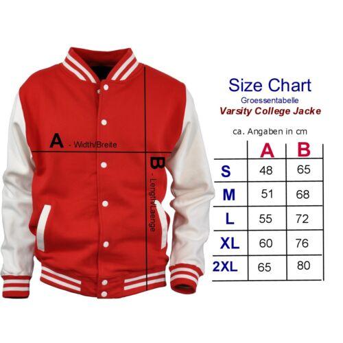 * varsity College veste hot rod rockabilly old school racing kustom 1103