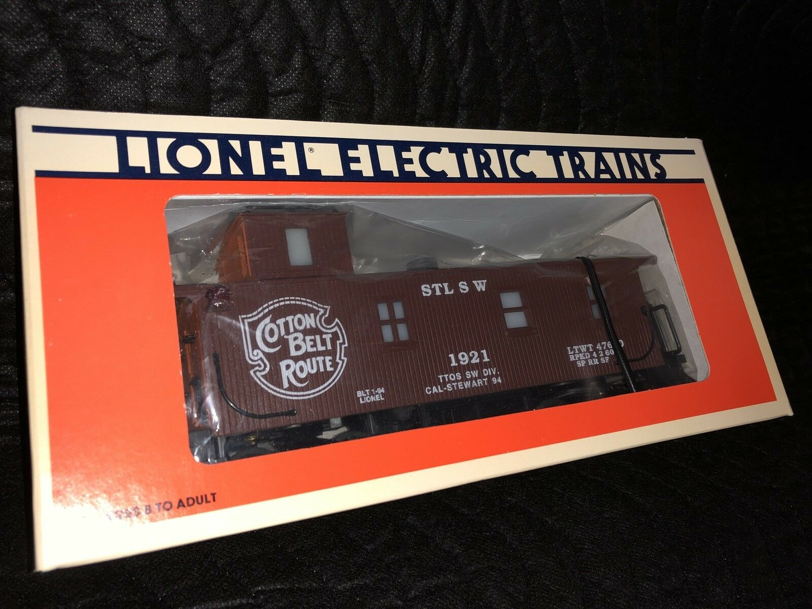 LIONEL CAL-STEWART S.W. COTTON BELT ROUTE CABOOSE c9 new in BOX