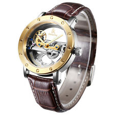 IK Colouring Perspective Men's Automatic Mechanical Wristwatch Skeleton Watch