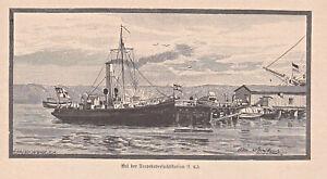 Kiel .. unser Kriegshafen - 5 Blatt - 12 Holzstiche - Artikel von 1886