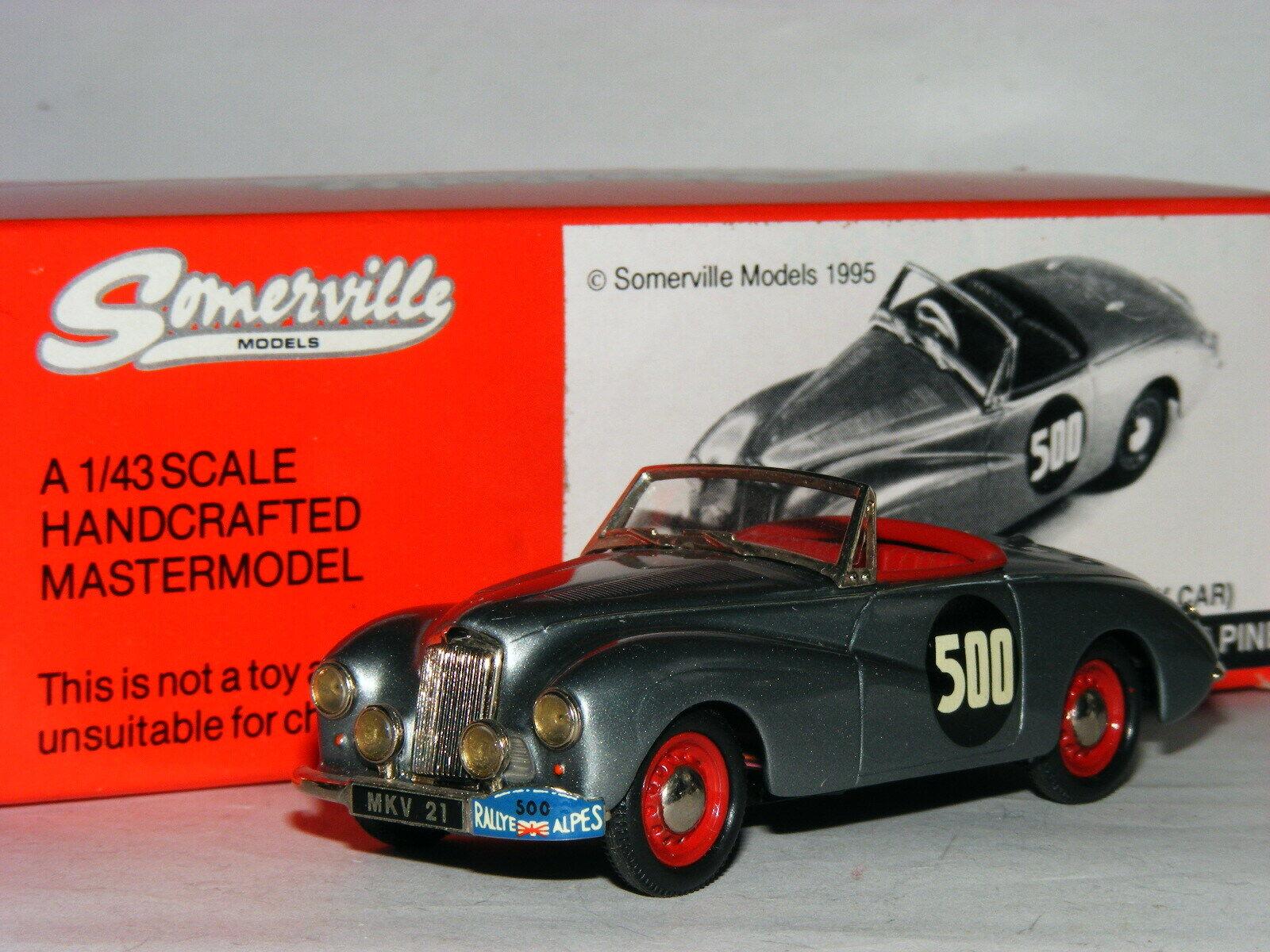 modeloo Somerville 137 sol alto, streuling musgo 1953 alta montaña rally   43
