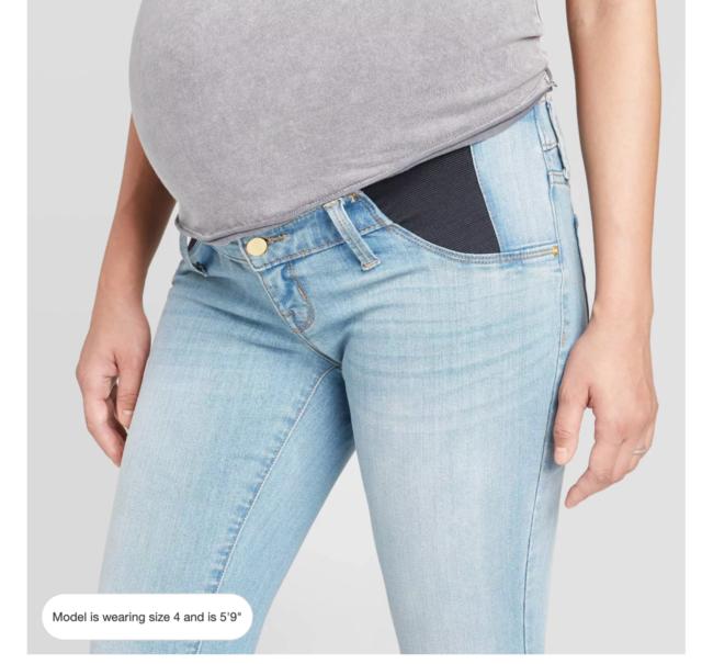 Target Isabel Maternity Inset Side Panel Skinny Jeans Sz 12 White Value For Sale Online Ebay