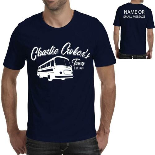 Charlie Crockers Tours inspired by Italian Job classic Film Movie Mens T-Shirt