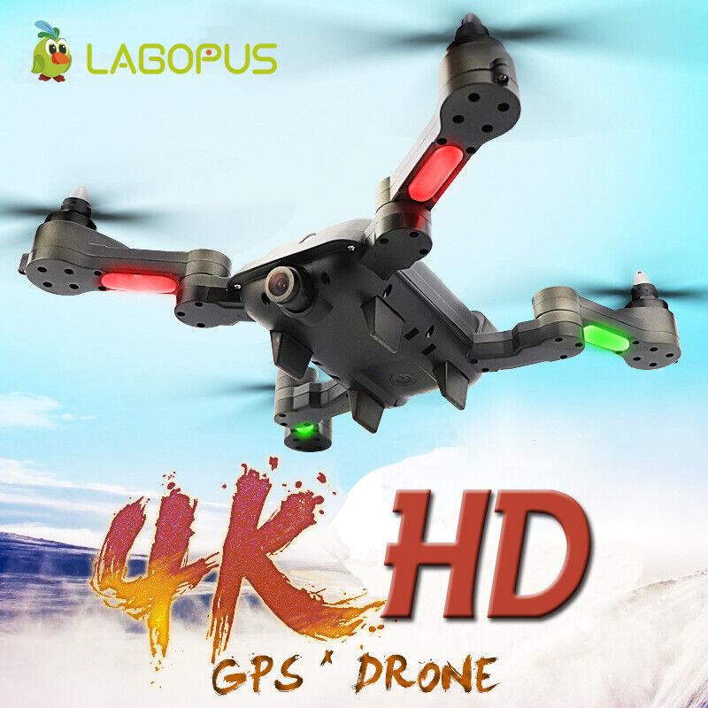 Drone 4K con cámara HD RC Cuadricóptero Drone GPS Wifi Cámara FPV