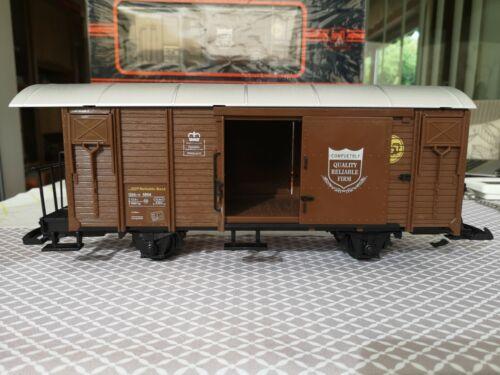 Für LGB    3  NEWQIDA  geschlossener Güterwagen brandneu in Box 3//