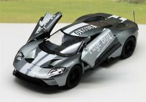 Wedding-Day-Gift-Personalised-Page-Boy-Ring-Bearer-Name-2017-Ford-GT-Toy-Car-New