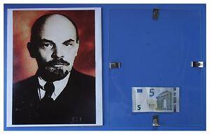 LENIN-cielo-rosso-Russia-URSS-Comunismo-quadro-cornice-vetro-cm-30x24