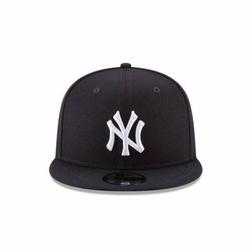 New Era New York Yankees Team Color Basic 9Fifty Snapback Cap Navy Blue 70416578