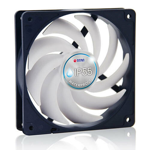 Titan TFD-12025H12B//KW IP55 Waterproof 120mm x 25mm 12V Bearing Cooling Fan RB