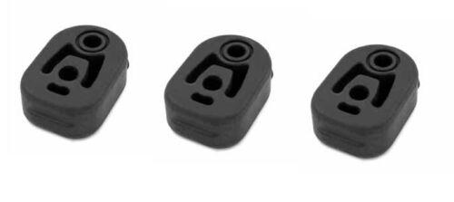 neu 3 x MERCEDES C-KLASSE W203 S203 C200 C220 Auspuff Gummi Halter Abgasanlage
