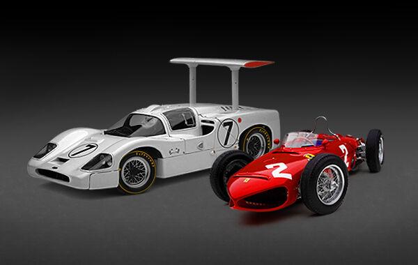 Exoto 1:18 | Oferta Especial | Phil Hill Set | Ferrari & Chaparral |  BND22031