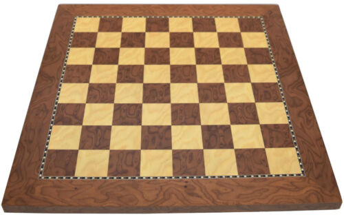 Sale HazelwoodEffect and Sycamore Chess Board 1.5 Inch Squares 28040