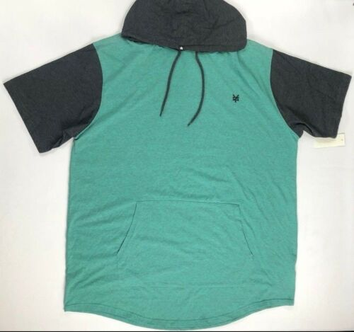 Men/'s Zoo York Unbreakable Big /& Tall Short Sleeve Hooded Shirt