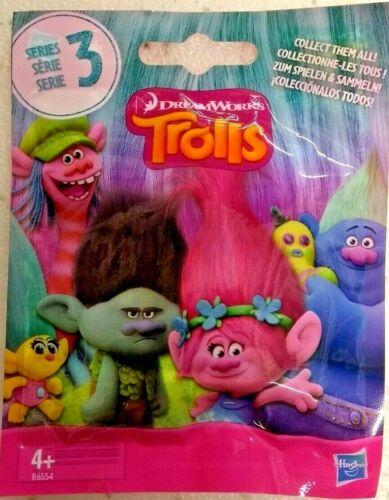 Trolls ciego Bag Serie 3 Surprise Mini Figura-Hasbro Dreamworks Coleccionable