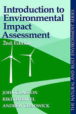 Introduction To Environmental Impact Assessment (Natural and Built-ExLibrary