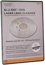 BTECH VENTRY BTV847 BLU-RAY® & DVD PLAYER LASER LENS CLEANER FOR PC PS3 XBOX ETC