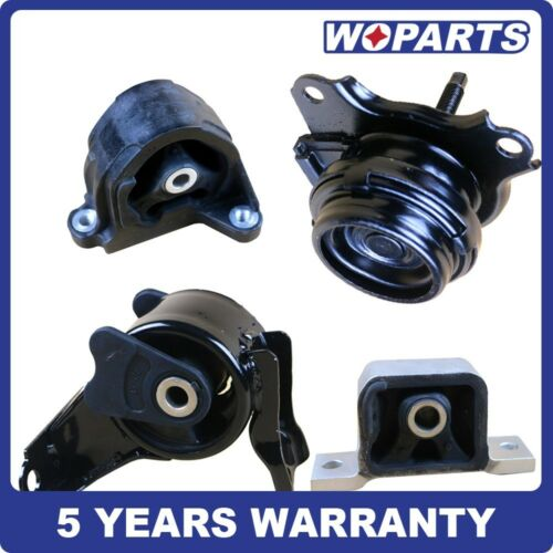 Front Rear Engine Motor Transmission Mount Fit for Acura RSX 2.0L 02-06 for Auto