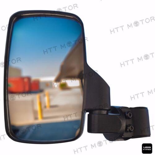 "Mirror Set UTV Side View High Impact Break Away Convex 1 5//8/"" 2/"" Roll Cage"