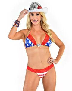 Patriotic bikini , USA Swimsuit , 4th Of July Bikini, American Flag Bikini