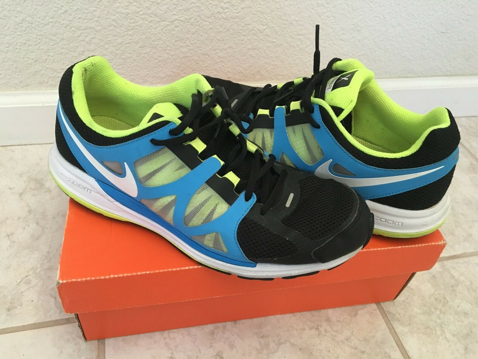 Nike Zoom Elite + Running Men Shoes Size 10 with Box