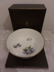 ROYAL WORCESTER FRUIT BOWL - FLORENA 1974 BOXED | eBay