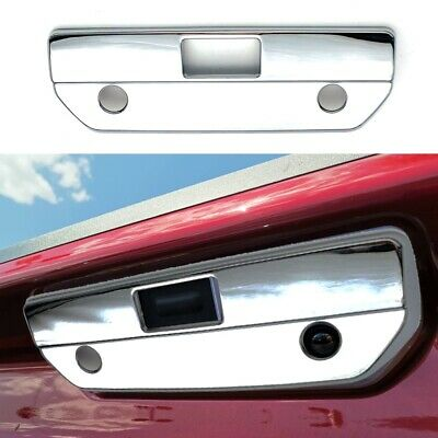 For 14-15 Silverado 1500 Tailgate Handle W//KH W//Camera Gas Door Chrome Cover